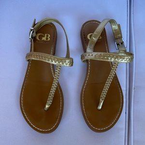 Gianni Bini Gold Sandal size 5